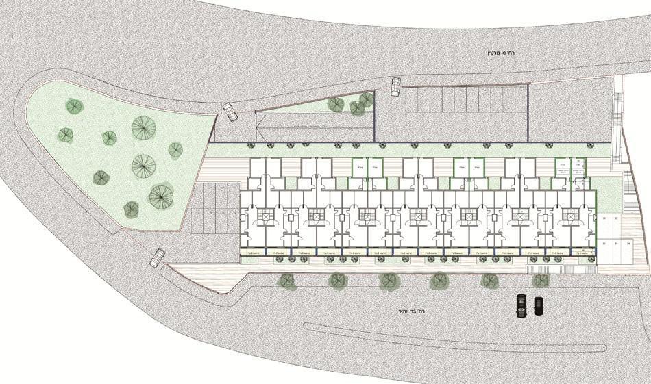 בר יוחאי 18, ירושלים - הדמית פיתוח שטח של פרויקט תמא 38