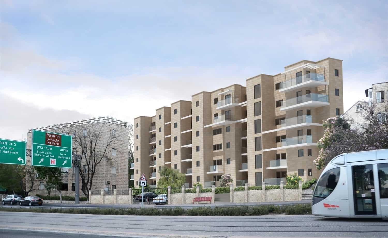 Tama 38 project in Jerusalem - Herzl 62