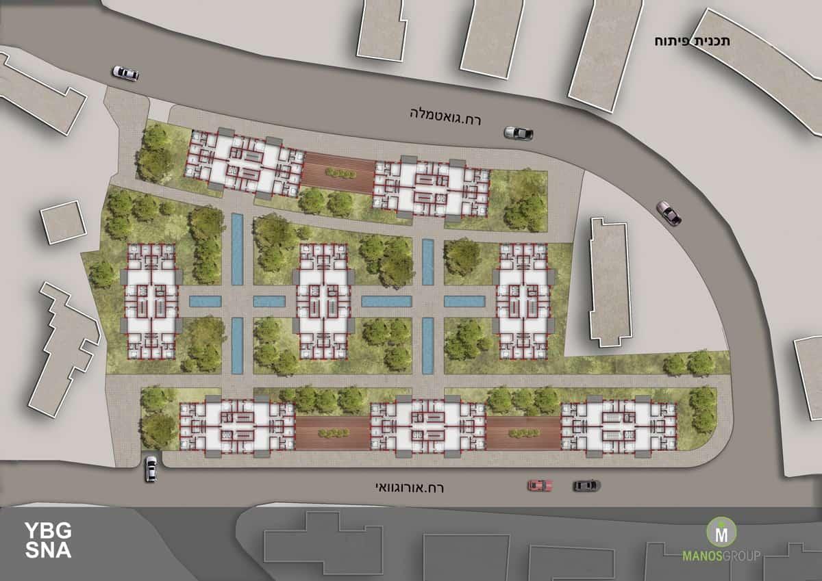 פינוי בינוי - תכנית פיתוח מתחם אורוגוואי, קרית היובל