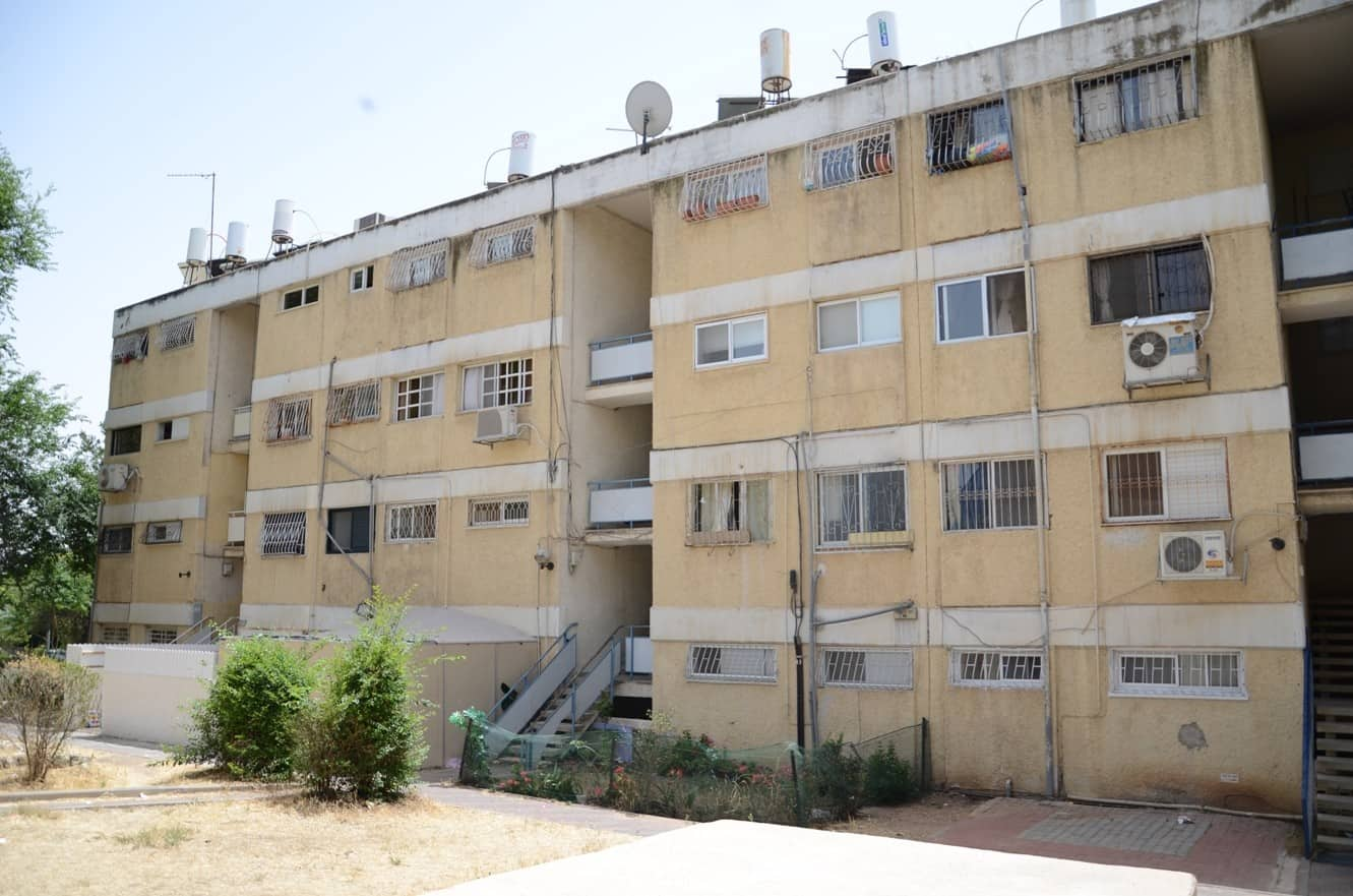 דהומיי 10, ירושלים - לפני יישום פרויקט תמא 38