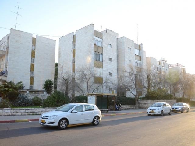 """ים סוף 5, ירושלים - לפני יישום פרויקט תמ""""א 38"""