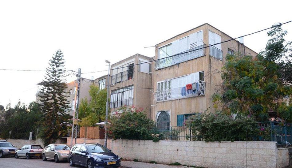 אבא חלקיה 5, ירושלים - לפני יישום פרויקט תמא 38