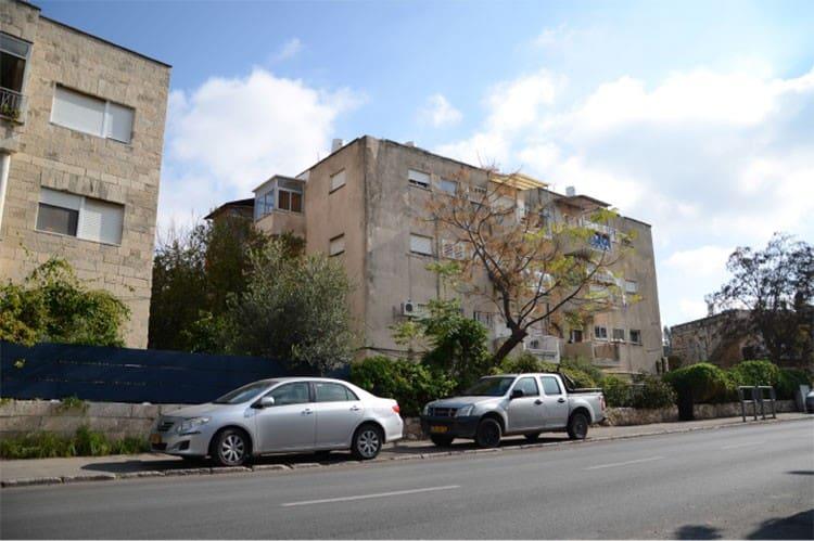 אלעזר המודעי 4, ירושלים - לפני יישום פרויקט תמא 38