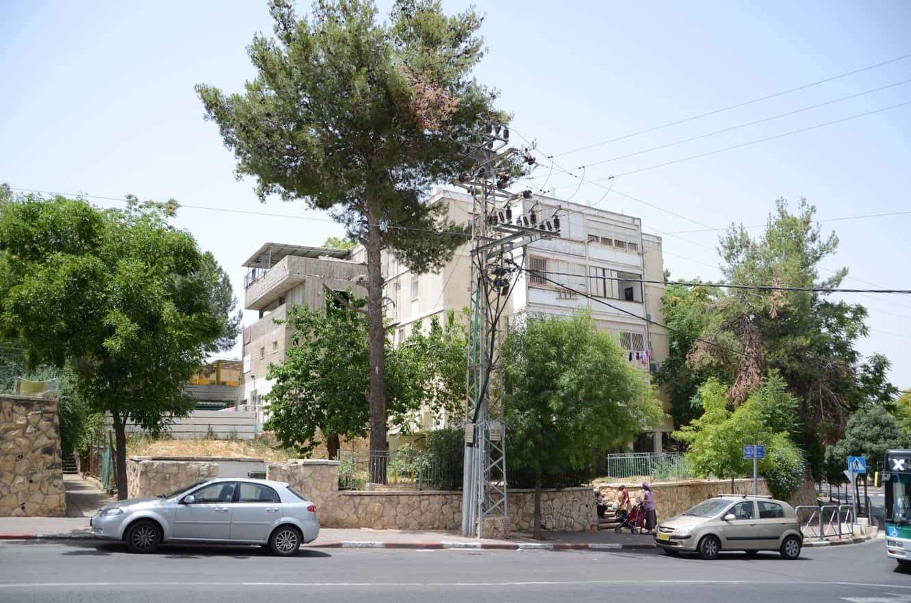 דהומיי 2, ירושלים - לפני פרויקט תמא 38