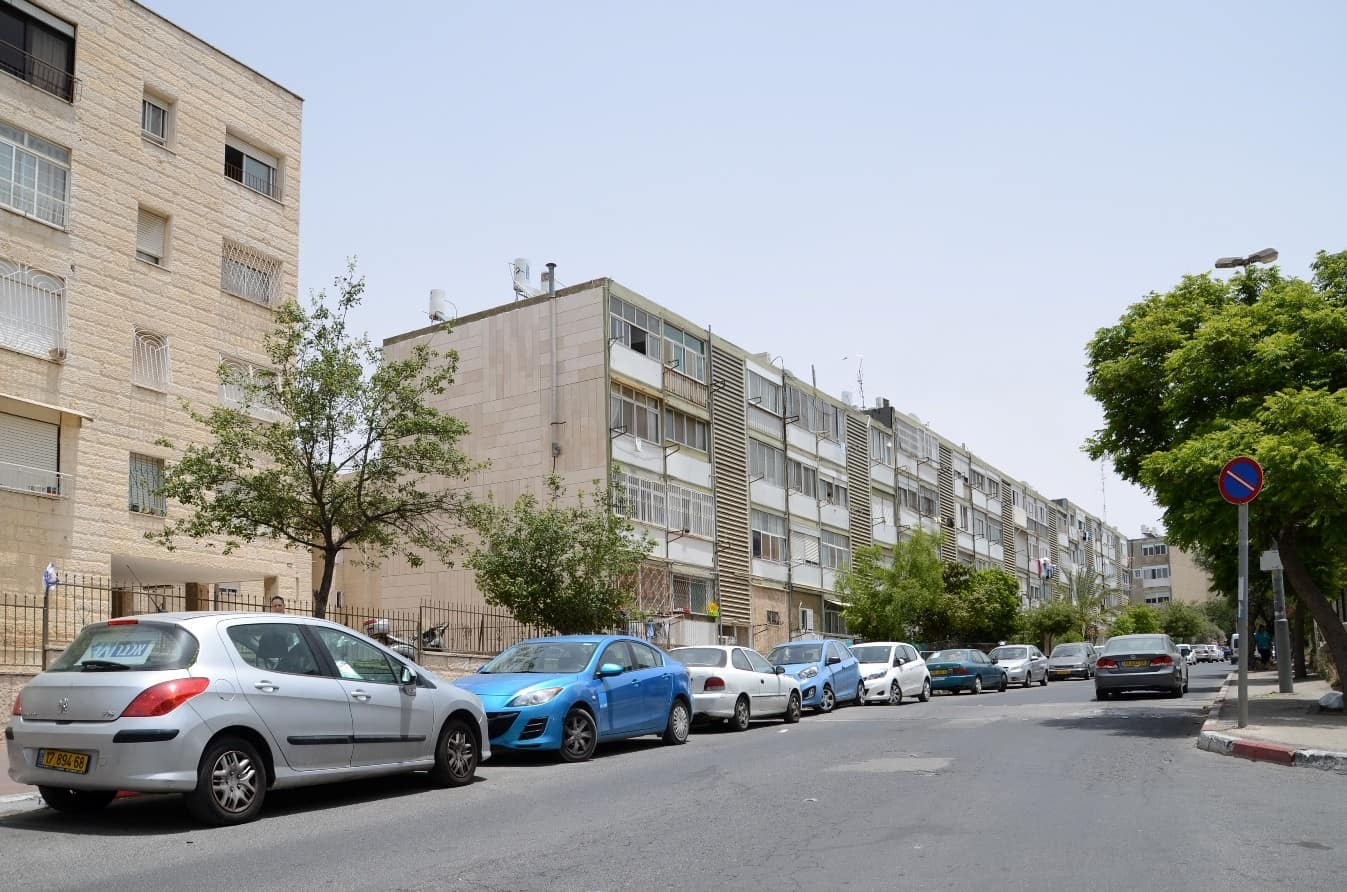 Rivka 22, Jerusalem – Before implementation of Tama 38 project