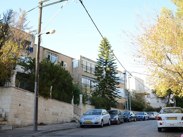 """אבא חלקיה 5, ירושלים - לפני יישום פרויקט תמ""""א 38"""