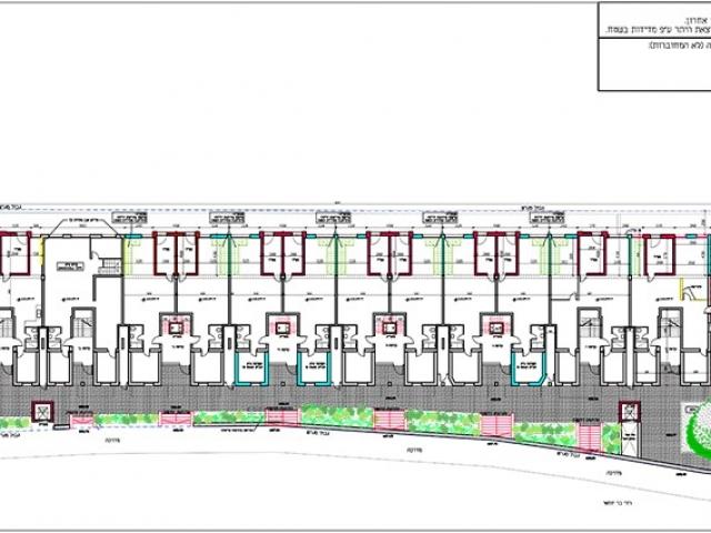 בר יוחאי 15 - תוכנית קומה טיפוסית של פרויקט תמא 38