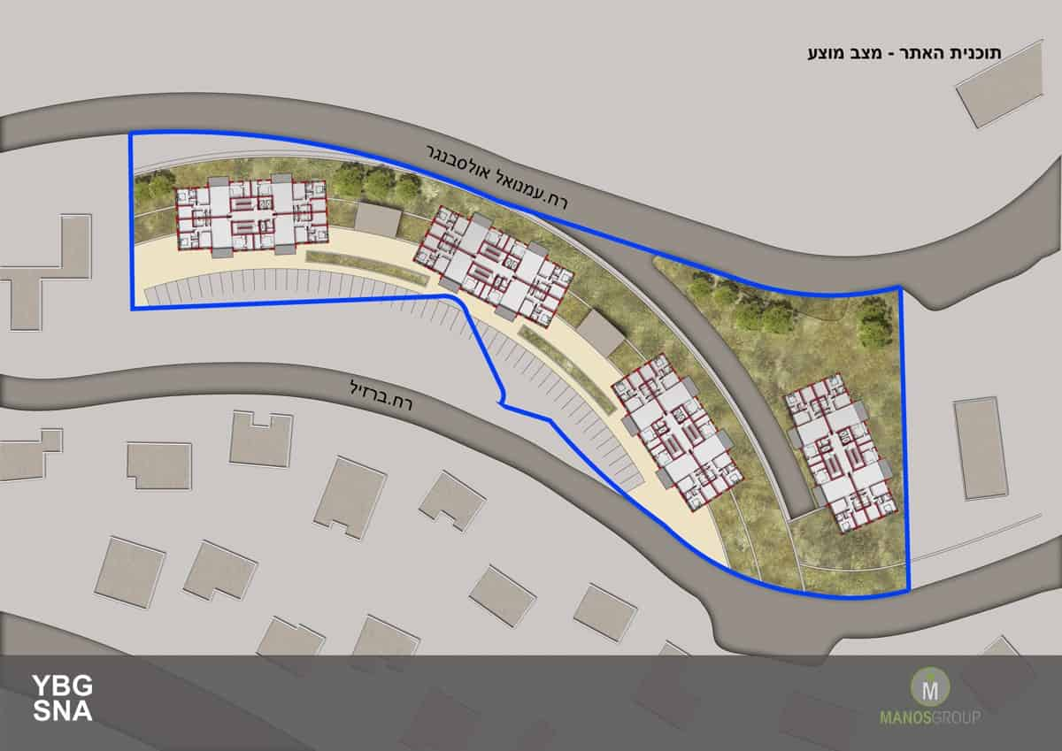 פינוי בינוי בירושלים - תכנית פיתוח מתחם ברזיל, קרית היובל