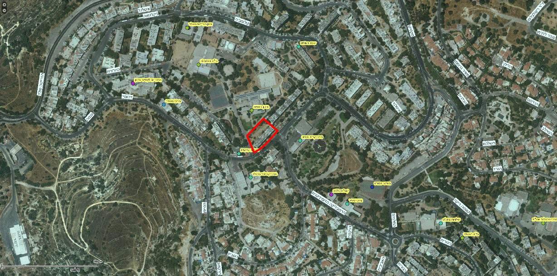 """תמ""""א 38 בירושלים - רחוב דהומיי 6 - GIS"""