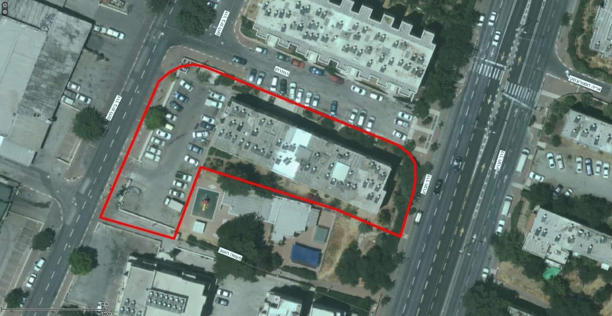 דרך חברון 116, ירושלים - GIS