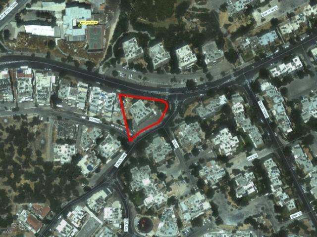 """תמ""""א 38 בירושלים - שאול המלך 63 - GIS"""
