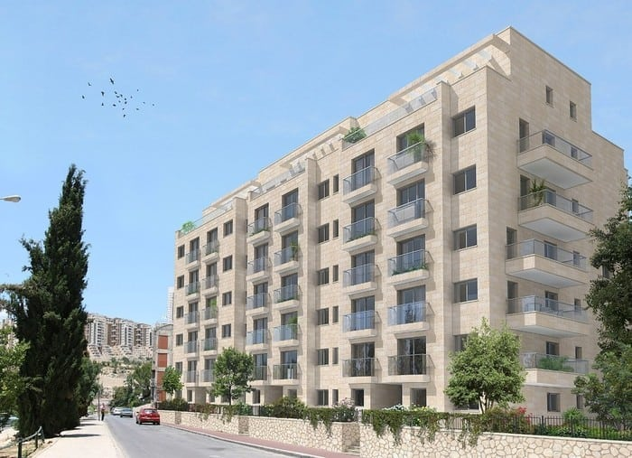 Elmaliach 144, Jerusalem - After implementation of Tama 38 project
