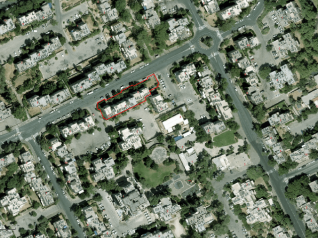 """פרויקט תמ""""א 38 בירושלים - ים סוף 5 - GIS"""