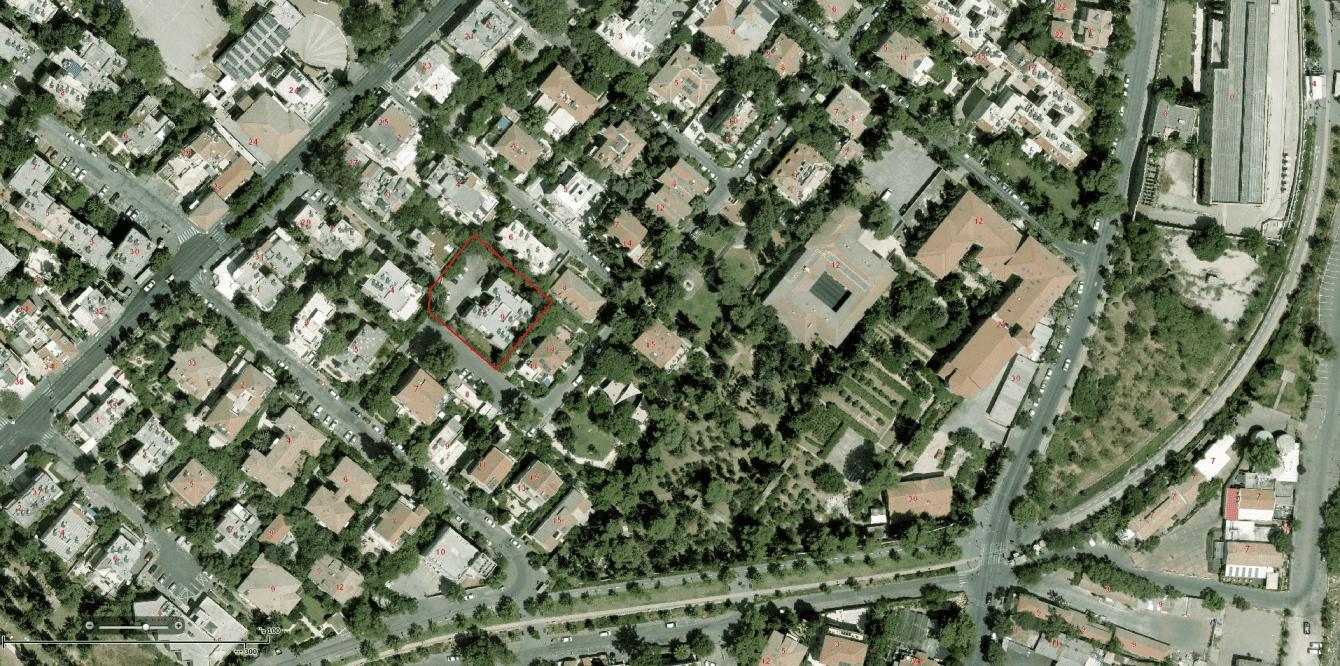דידס 6, ירושלים – GIS