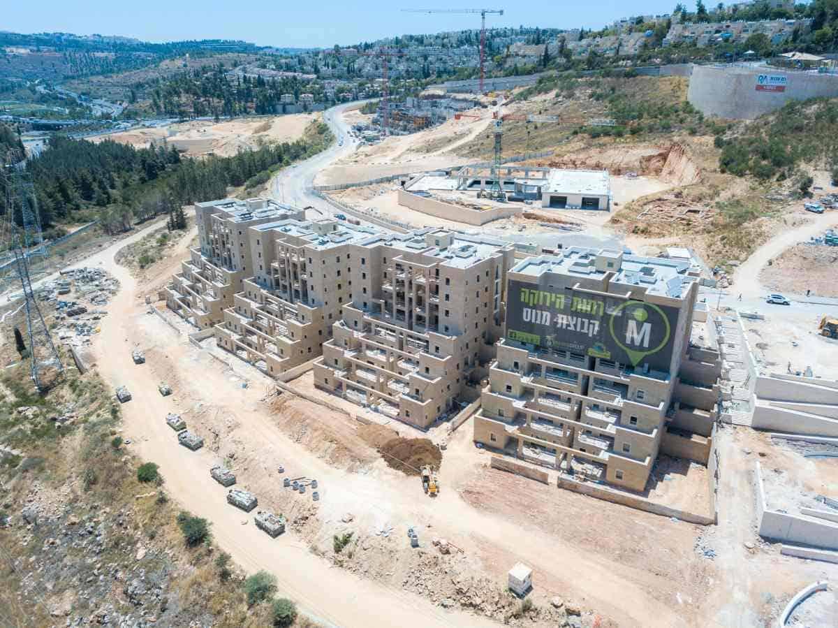 קבוצת רכישה, ירושלים - שלבי בנייה