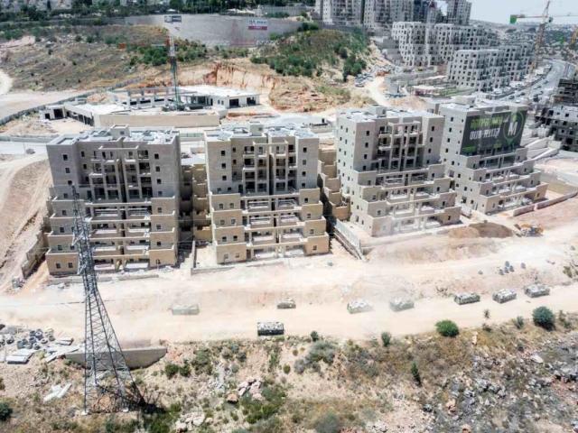 רמות הירוקה, ירושלים - שלבי בנייה