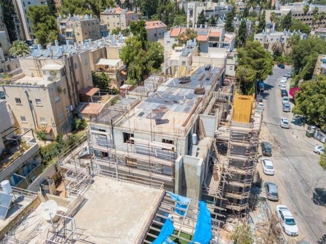 """פרויקט תמ""""א 38 בירושלים - אבא חלקיה 5 - בשלבי בניה"""