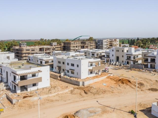 התקדמות עבודות בניה - קבוצת רכישה אלומה הירוקה