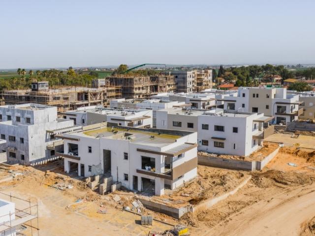 עבודות בניה התקדמות - אלומה ירוקה - קבוצות רכישה