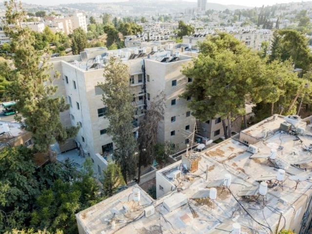 """פרויקט תמ""""א 38 בירושלים - בן זכאי 6 - שלבי בניה"""