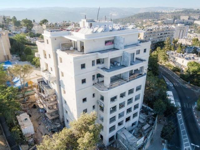 """פרויקט תמ""""א 38 בירושלים - דהומיי 2 - בשלבי בניה"""