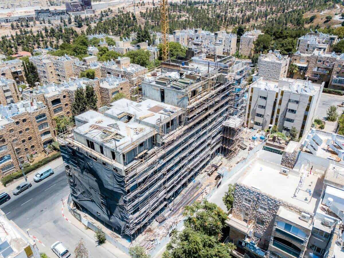 """ים סוף 5 – פרויקט תמ""""א 38 בירושלים – בשלבי עבודה"""
