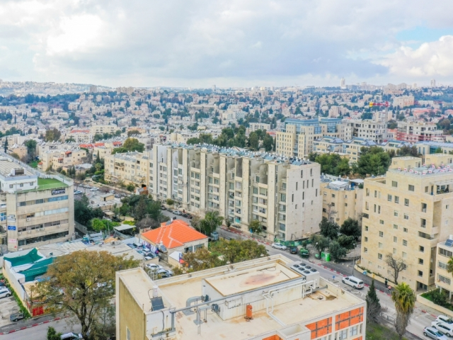 – Tama 38 project  - Rivka 22, Jerusalem - Construction work