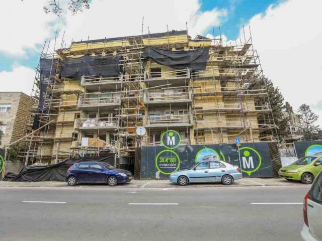 פרויקט תמ״א 38 - אלעזר המודעי 4 - שלבי בנייה