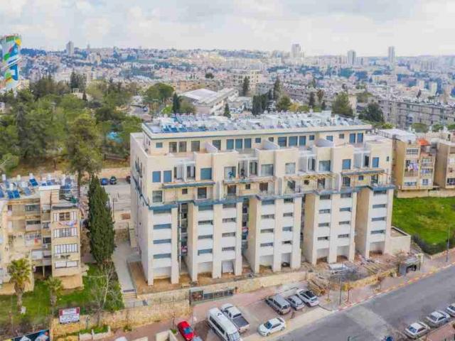 פרויקט תמ״א 38 בירושלים - דהומיי 10- שלבי בנייה