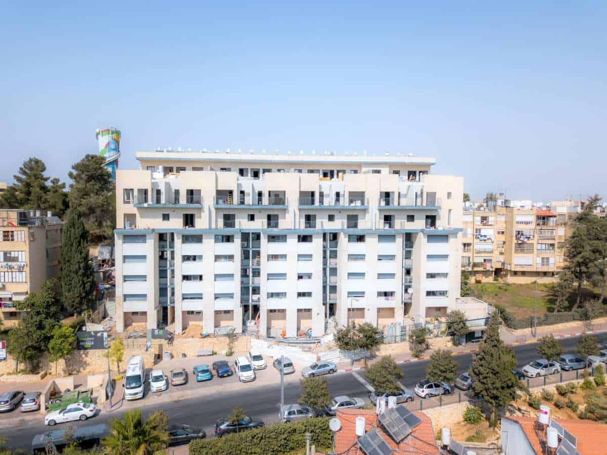 פרויקט תמא 38 בירושלים - דהומיי 10 - בשלבי בנייה