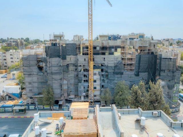 """תמ""""א 38 בירושלים - ים סוף 5 – בשלבי עבודה"""