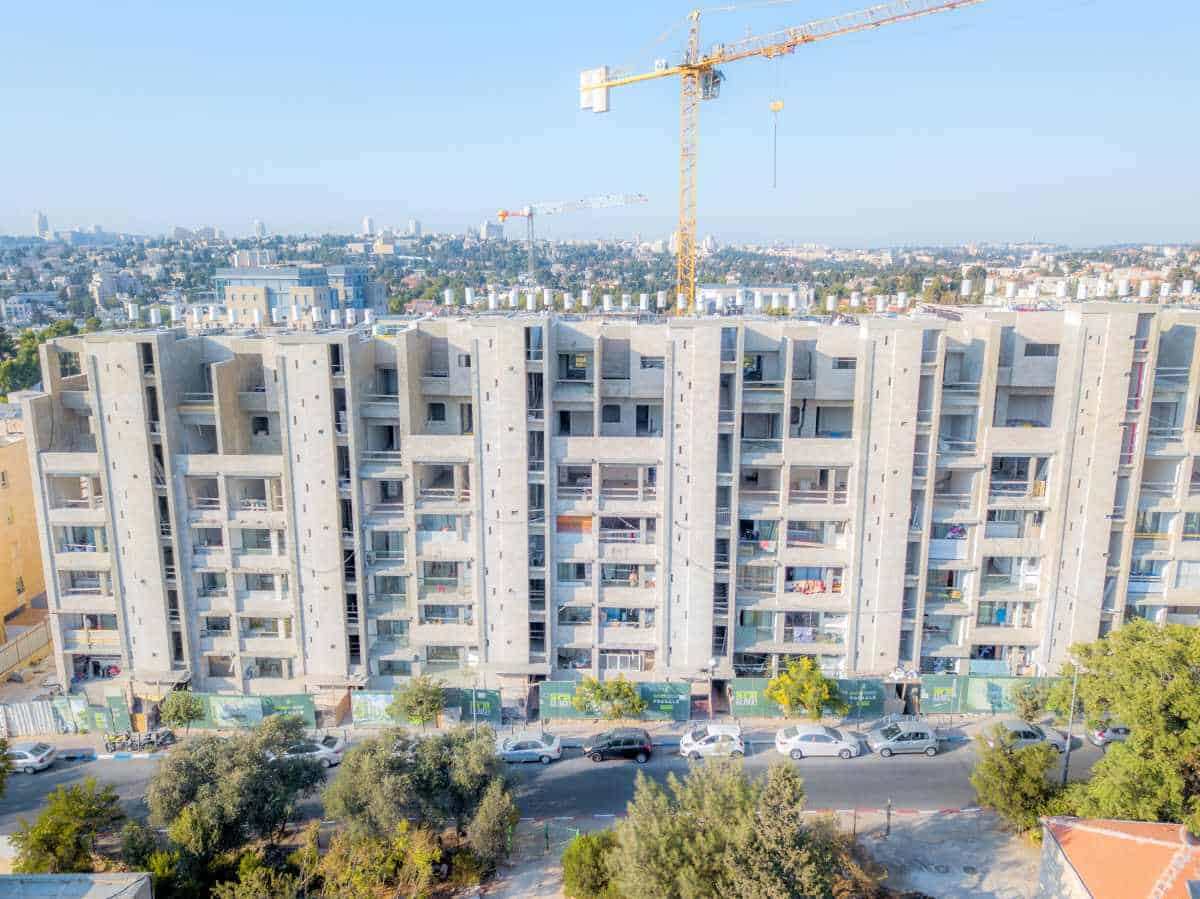 Rivka 22, Jerusalem – Tama 38 project - Construction work