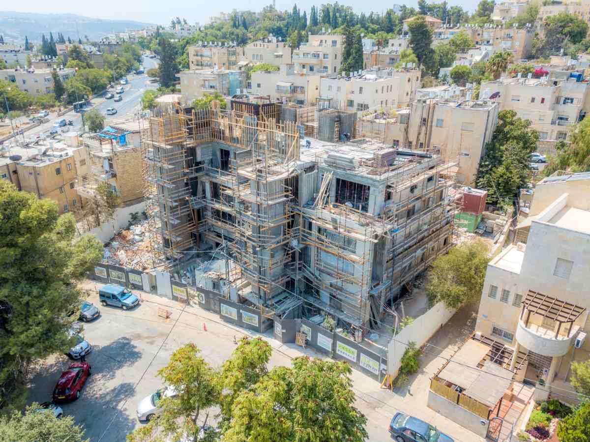 """תמ""""א 38 בירושלים - אבא חלקיה 5 - בשלבי בנייה"""