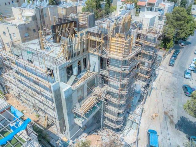 """פרויקט תמ""""א 38 אבא חלקיה 5 - בשלבי בניה"""