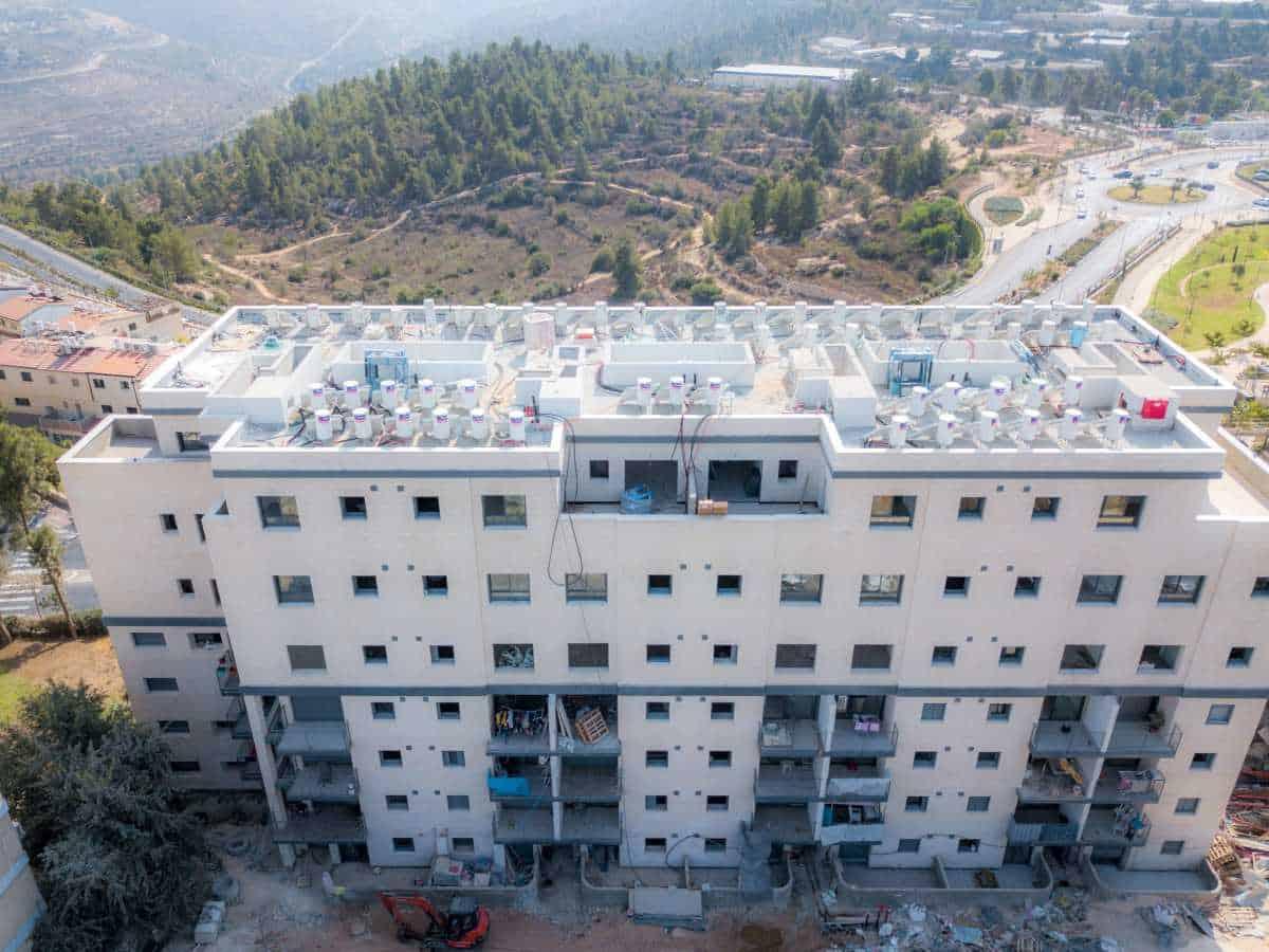 דהומיי 10 - תמא 38 בירושלים - עבודות בנייה