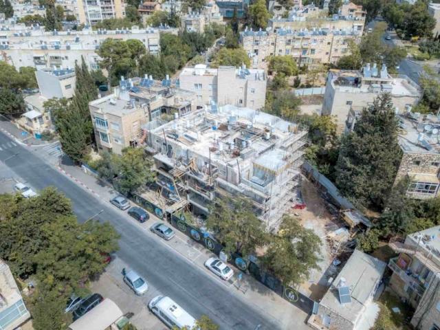 """תמ""""א 38 בירושלים - אלעזר המודעי 4 - בשלבי בניה"""