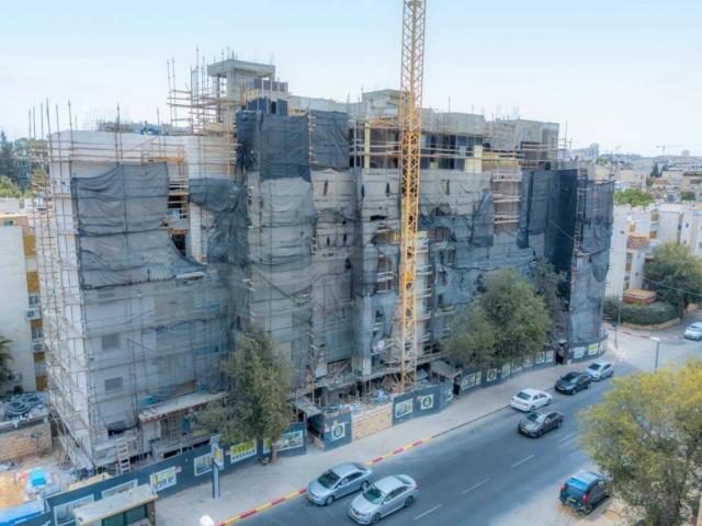 """ים סוף 5 – תמ""""א 38 בירושלים – בשלבי בנייה"""