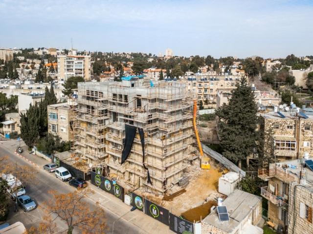 תמ״א 38 בירושלים - אלעזר המודעי 4 - שלבי בנייה