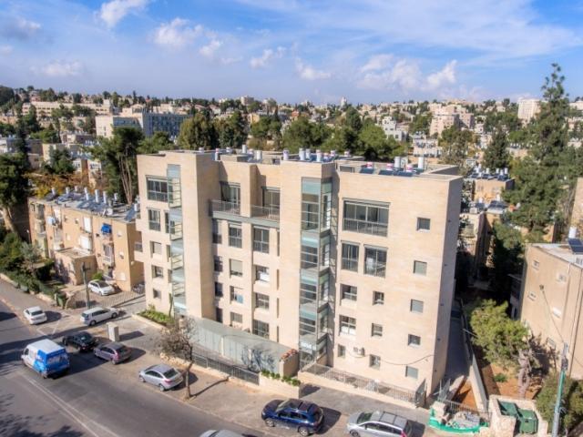 בן זכאי 6  פרויקט תמ״א 38 בירושלים - שלבי בנייה