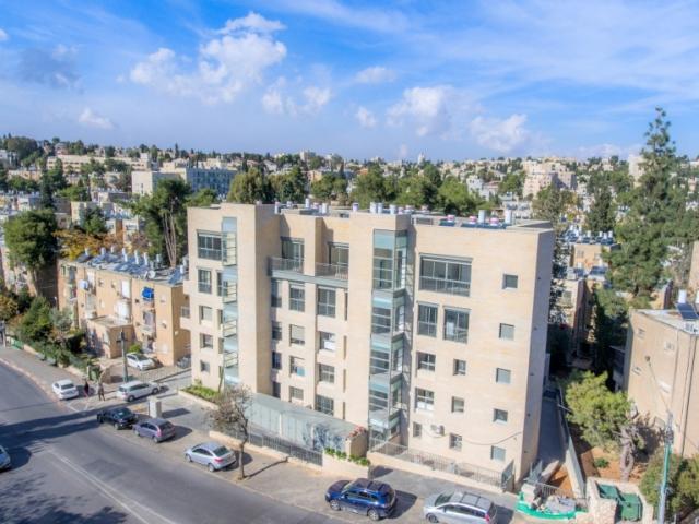 פרויקט תמ״א 38 בירושלים -  שלבי בנייה - בן זכאי 6