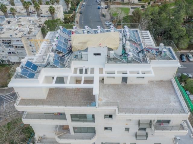 דהומיי 2 - תמ״א 38 בירושלים - שלבי בנייה
