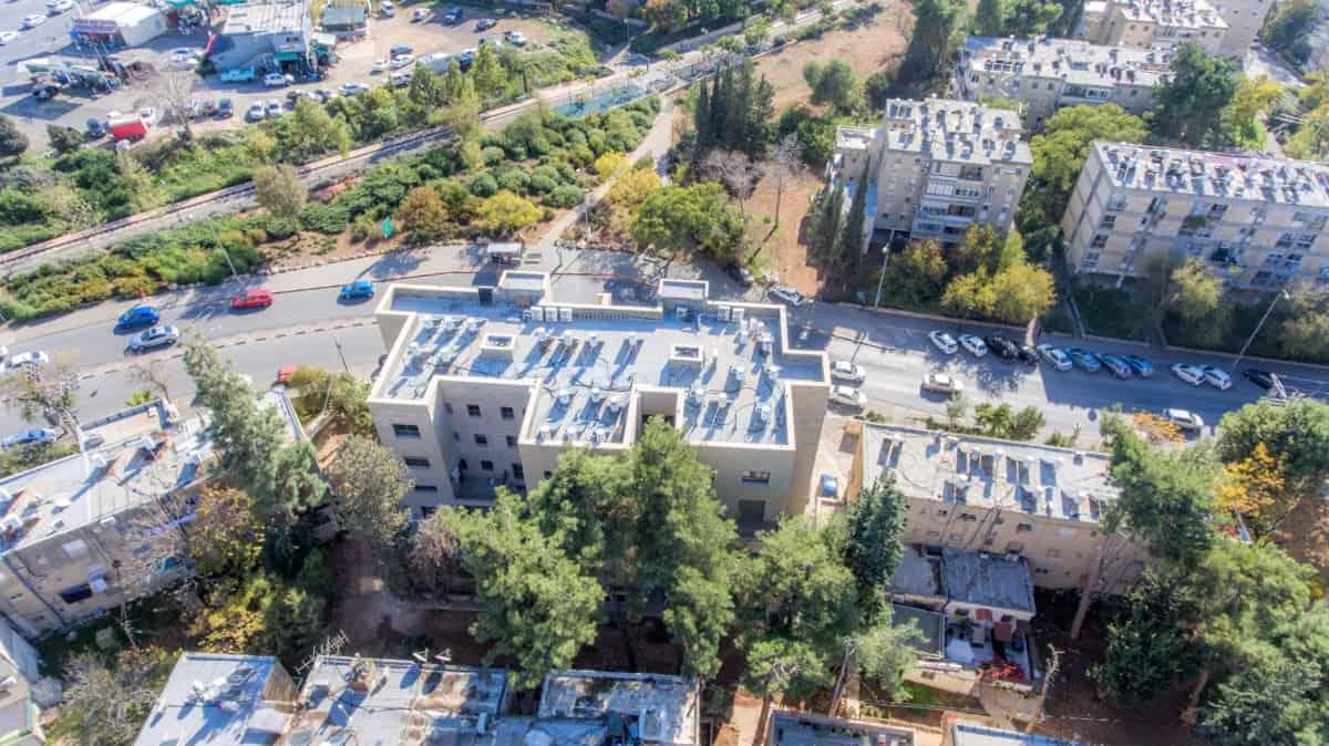 פרויקט תמ״א 38 בירושלים - בן זכאי 6 שלבי בנייה
