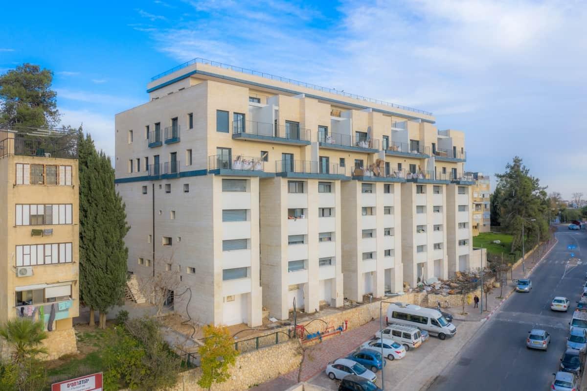 דהומיי 10 - בשלבי בנייה - פרויקט תמא 38 בירושלים